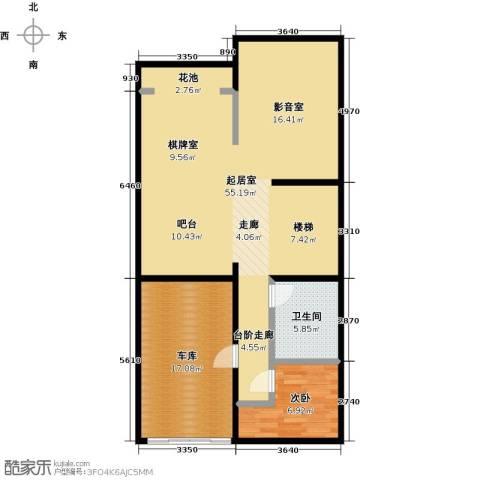 中信�台1室0厅1卫0厨118.00㎡户型图