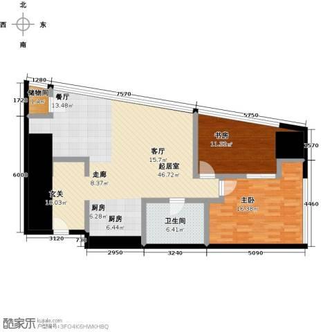 润德汇2室0厅1卫0厨102.00㎡户型图