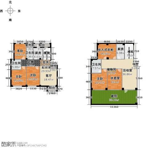 经纬壹号4室0厅3卫2厨271.94㎡户型图