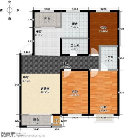 和泰馨城3室0厅2卫0厨148.00㎡户型图