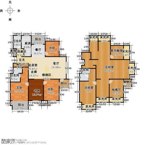 锦绣华城3室0厅3卫1厨299.12㎡户型图