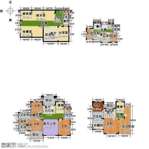 一品观园6室0厅7卫1厨588.00㎡户型图