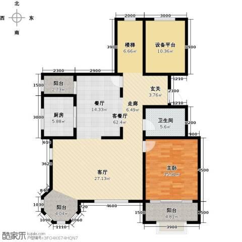融创君澜1室1厅1卫1厨149.00㎡户型图