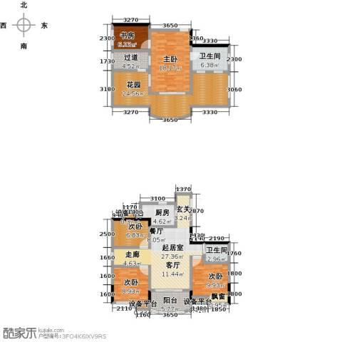 英伦蓝岸5室0厅2卫1厨188.00㎡户型图