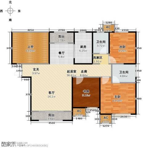融创中央学府3室0厅2卫1厨130.00㎡户型图
