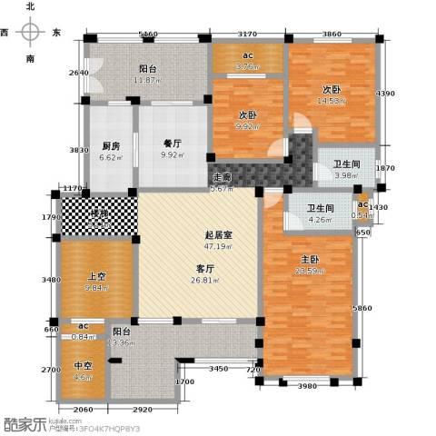 安芯智能港3室0厅2卫1厨221.00㎡户型图