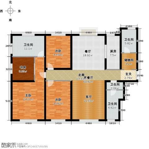 天津大都会4室1厅4卫1厨212.00㎡户型图