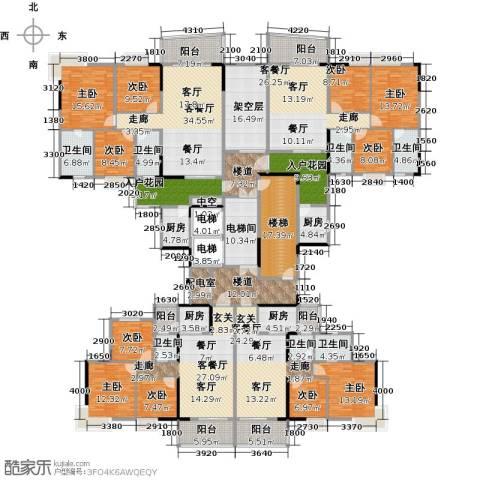 青春9室4厅7卫4厨560.00㎡户型图