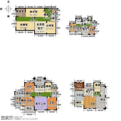 一品观园6室0厅7卫1厨608.00㎡户型图
