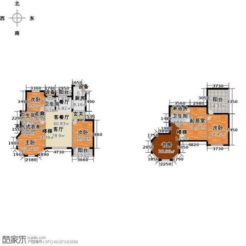 滨海假日5室1厅3卫1厨197.91㎡户型图