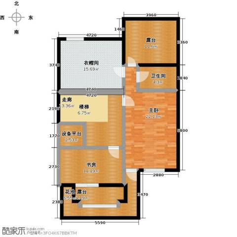 龙湖庄园2室0厅1卫0厨91.54㎡户型图