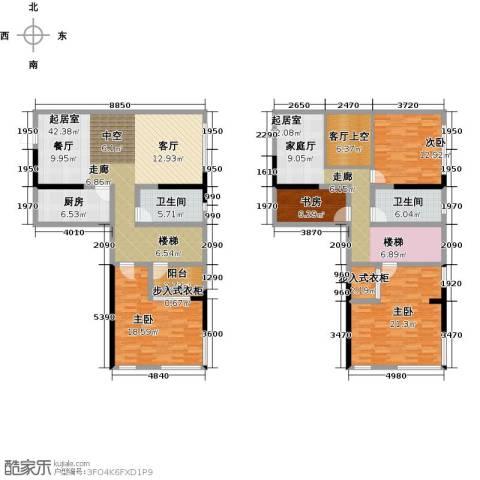 上品公馆4室0厅2卫1厨177.40㎡户型图