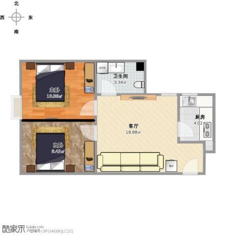 富雅豪临3室1厅1卫1厨123.00㎡户型图
