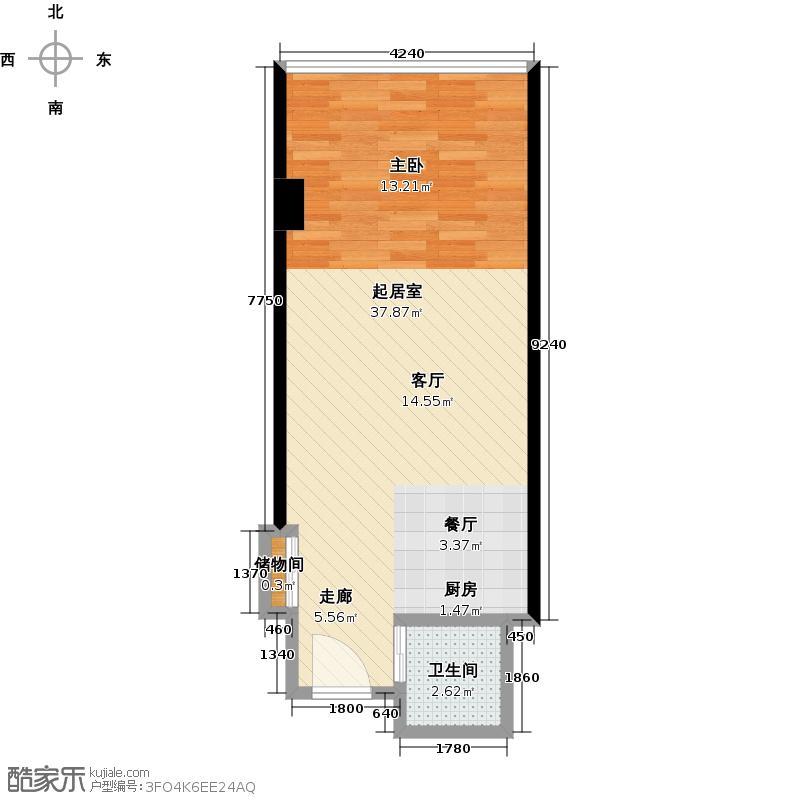 长安公馆45.00㎡长安公馆45.00㎡户型10室