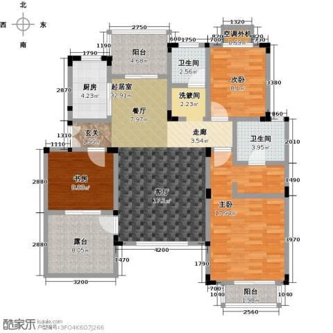 吉祥国际花园3室0厅2卫1厨114.00㎡户型图