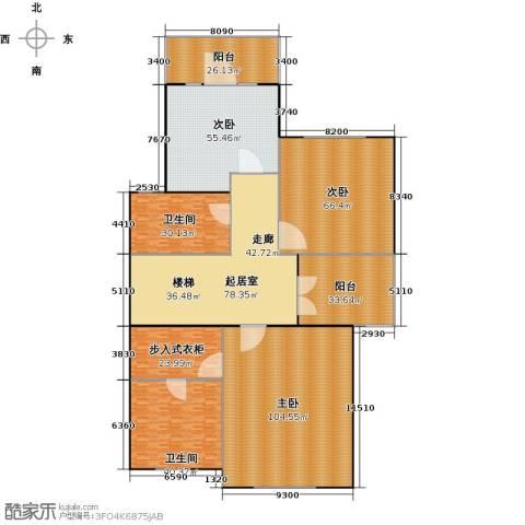 宏润阳光城3室0厅2卫0厨475.00㎡户型图