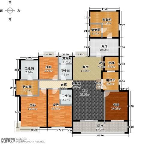 九龙仓玺园4室0厅3卫1厨205.00㎡户型图
