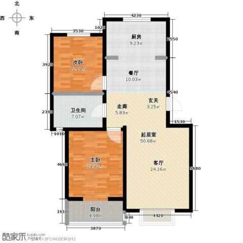 幸福里程2室0厅1卫0厨102.00㎡户型图