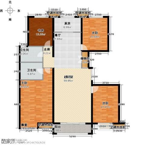 金宇新天地4室0厅2卫1厨182.00㎡户型图