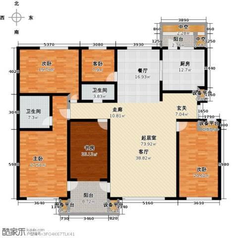 万豪长隆湾5室0厅2卫1厨234.00㎡户型图