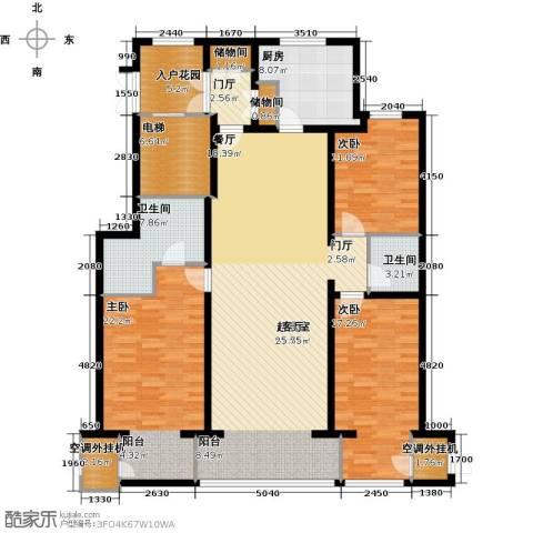 大将作3室0厅2卫1厨159.00㎡户型图