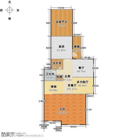 宏润阳光城1厅1卫1厨535.00㎡户型图