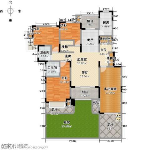 中星湖滨城四期3室0厅2卫1厨209.00㎡户型图