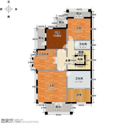 御苑3室0厅2卫0厨158.00㎡户型图