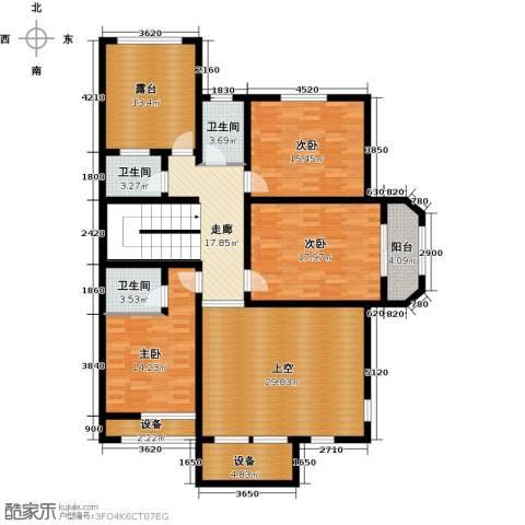 龙庭一品3室0厅3卫0厨130.36㎡户型图
