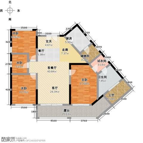 尚海华廷4室1厅1卫1厨168.00㎡户型图