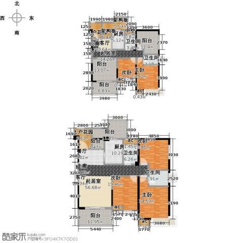 西城国际5室0厅4卫2厨387.00㎡户型图