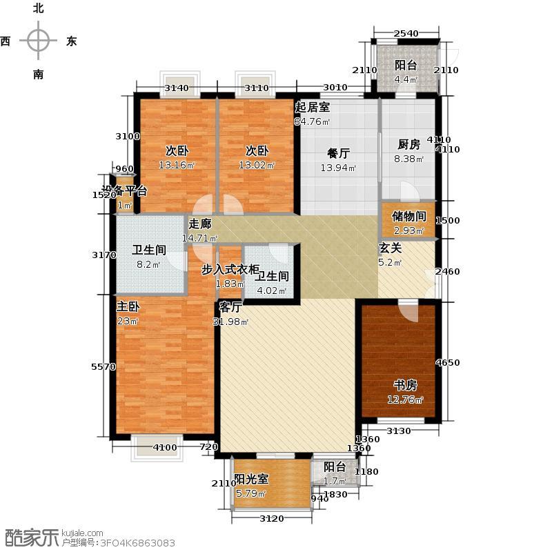 奈伦国际奈伦国际户型10室