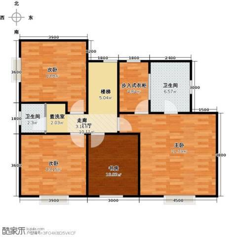 嘉来涪滨印象4室0厅2卫0厨111.00㎡户型图
