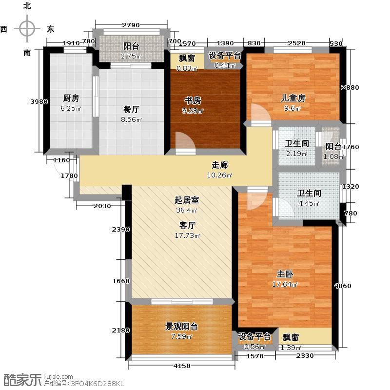 华润橡树湾128.00㎡华润橡树湾128.00㎡3室2厅2卫户型3室2厅2卫