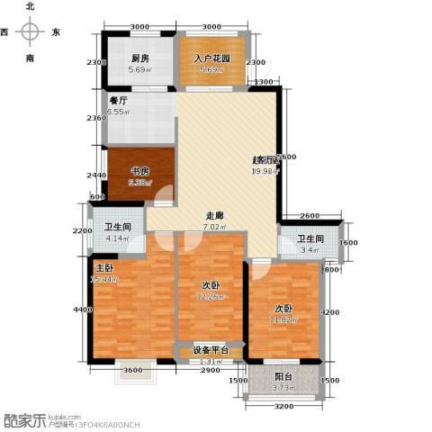 罗马景福城4室0厅2卫1厨140.00㎡户型图