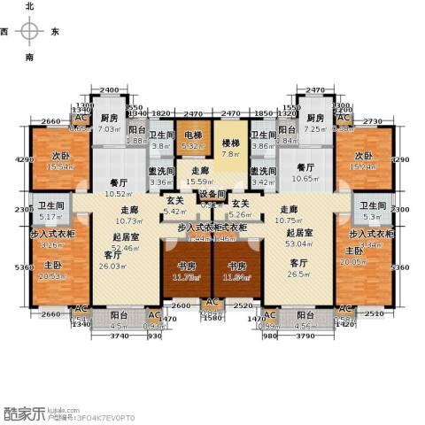 九号国际城6室0厅4卫2厨282.05㎡户型图
