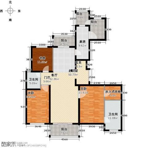 龙德花园3室0厅2卫1厨181.00㎡户型图