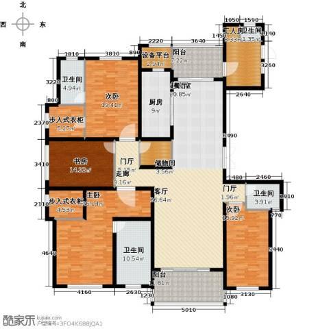 龙德花园4室0厅4卫1厨236.00㎡户型图