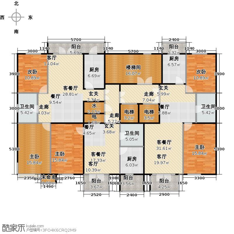 金京赛丽斯高层10#11#12#户型
