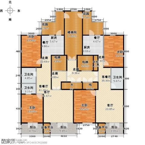 金京赛丽斯4室2厅3卫0厨310.00㎡户型图