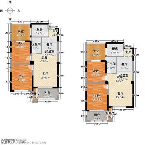 香榭里4室0厅2卫2厨159.03㎡户型图