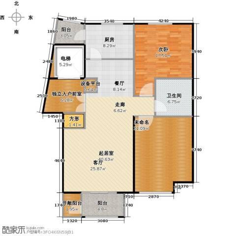 悦城1室0厅1卫1厨158.00㎡户型图