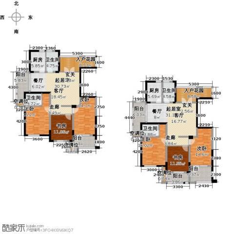 香榭里6室0厅4卫2厨218.22㎡户型图