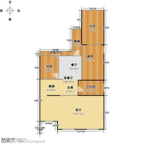 宏润阳光城1室1厅1卫1厨397.00㎡户型图