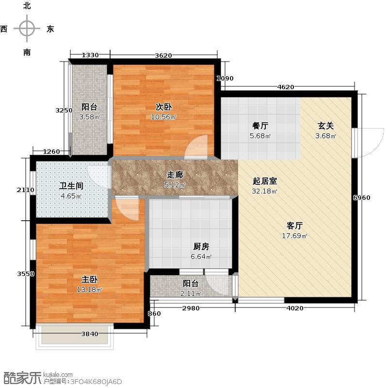 阳光100国际新城阳光100国际新城户型10室