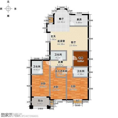 东方名城4室0厅3卫1厨178.00㎡户型图