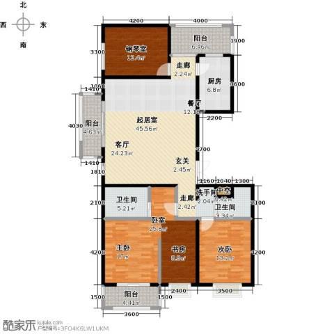曲江风景线1室0厅2卫1厨172.00㎡户型图