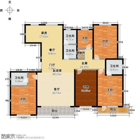 城市维也纳5室0厅4卫0厨232.00㎡户型图