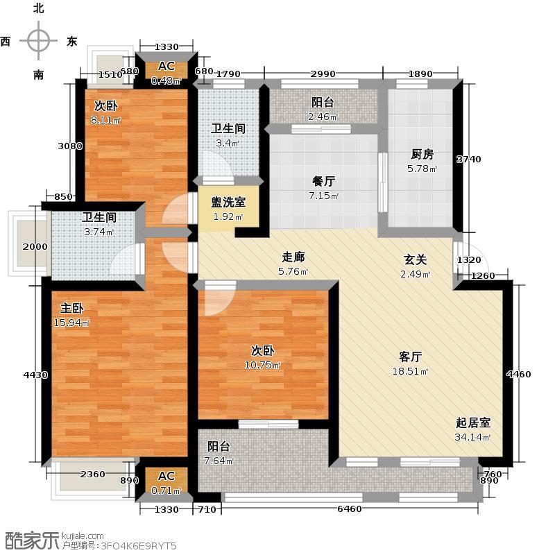 汉泰纯园汉泰纯园户型10室-T