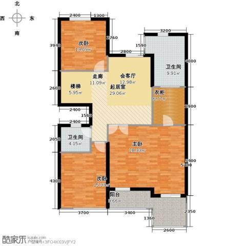 林隐天下3室0厅2卫0厨300.00㎡户型图